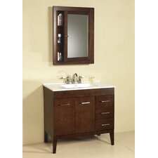 "Venus 37"" Single Bathroom Vanity Set"