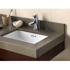 "Appeal 59"" Vanity Top for 2 Undermount Sinks"