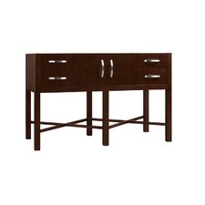 "Contempo 48"" Haley Wood Vanity Base"