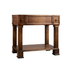 "Traditions 36"" W Palermo Bathroom Colonial Cherry Vanity Base"