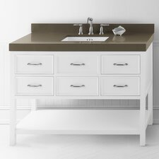 "Neo Classic 48"" Wood Vanity Base"