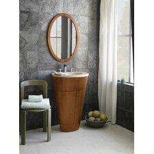 "Contempo Leonie 24"" Single Bathroom Vanity Set with Mirror"