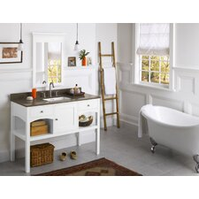 "Neo-Classic 48"" Langley Wood Vanity Set"
