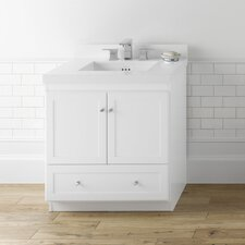 "Modular Shaker 30.56"" Bathroom Vanity Cabinet Set"