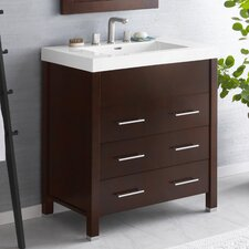 "Contempo Kali 32"" Wood Vanity Set"