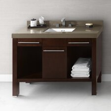 "Brennon 48"" Wood Vanity Set"