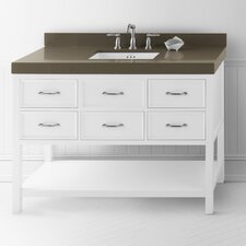 "Newcastle 48"" Wood Vanity Set"