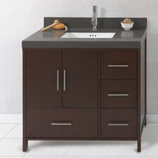 "Contempo Juno 36"" Standard Bathroom Vanity Set"