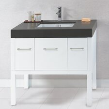 "Contempo Calabria 36"" Standard Bathroom Vanity Set"