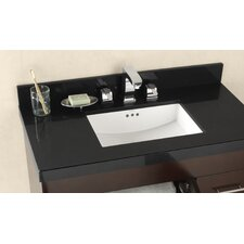 "<strong>Ronbow</strong> 37""  Appeal Vanity Top for Undermount Sink with Thickness"