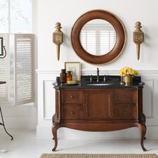 "Chardonnay 53"" Wood Vanity Set"