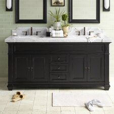 "Traditions Torino 73"" Single Bathroom Vanity Set with Mirror"