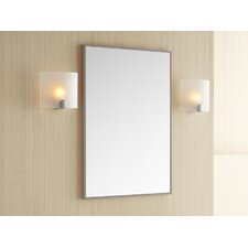 Contempo Blush Taupe Framed Mirror