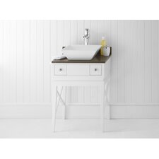 "Angelica 23"" Wood Cabinet Vanity Set"