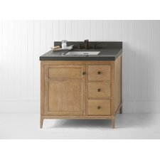"<strong>Ronbow</strong> Briella 36"" Wood Cabinet Vanity Base"