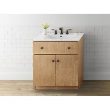 "Amberlyn 30"" Wood Cabinet Vanity Base"