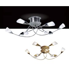 Sibilla 6 Light Semi Flush Mount