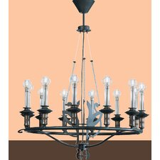 <strong>Lamp International</strong> Firenze Twelve Light Chandelier