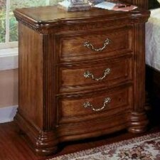<strong>Wynwood Furniture</strong> Cordoba 3 Drawer Nightstand