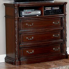 Terressa 3 Drawer Media Chest