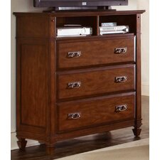 <strong>Wynwood Furniture</strong> Randolph Park 3 Drawer Media Chest