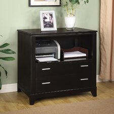 <strong>Wynwood Furniture</strong> Palisade File Cabinet in Dark Sable