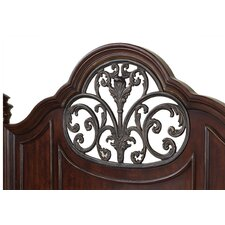 Heritage Manor Low Poster Headboard