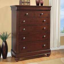 <strong>Wynwood Furniture</strong> Olmsted 5 Drawer Chest