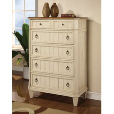 <strong>Wynwood Furniture</strong> Garden Walk 5 Drawer Chest
