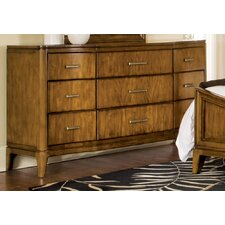 Cypress Pointe 9 Drawer Dresser