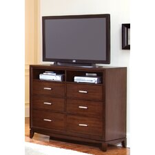 <strong>Wynwood Furniture</strong> Henley 6 Drawer Media Chest