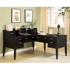 Palisade L-Shaped Desk