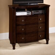Sutton Place 3 Drawer Media Chest