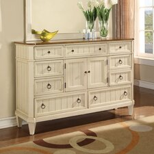 <strong>Wynwood Furniture</strong> Garden Walk 9 Drawer Dresser