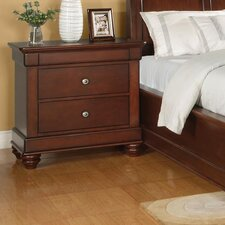 <strong>Wynwood Furniture</strong> Olmsted 2 Drawer Nightstand