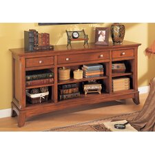 Waldsworth Console Bookcase in Autumn Cherry