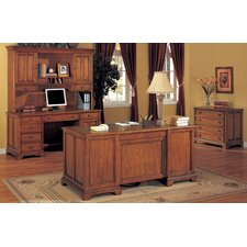 <strong>Wynwood Furniture</strong> Halton Hills Standard Desk Office Suite