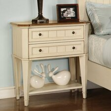 Garden Walk 2 Drawer Nightstand