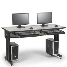 "72"" x 30"" Advanced Classroom Training Table"