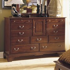 <strong>Kincaid</strong> Brookside 9 Drawer Combo Dresser