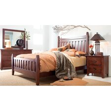 Stonewater Leather Slat Bedroom Collection