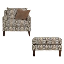 Classics Miami Chair and Ottoman