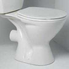 <strong>Saniflo</strong> Round Front 1.6 GPF Elongated Toilet Bowl Only