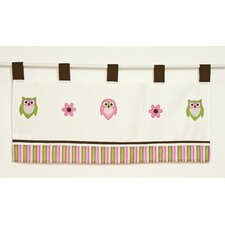 <strong>Pam Grace Creations</strong> Sweet Dreams Owls Cotton Curtain Valance