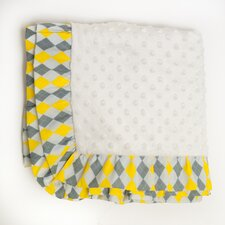 <strong>Pam Grace Creations</strong> Argyle Giraffe Blanket