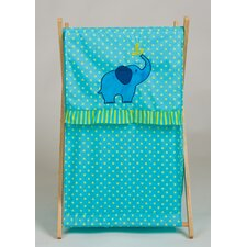 ZigZag Elephant Laundry Hamper