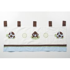 <strong>Pam Grace Creations</strong> Mr. and Mrs. Pond Cotton Curtain Valance