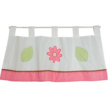 Ladybug Lucy Cotton Tab Top Tailored Curtain Valance