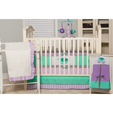 <strong>Pam Grace Creations</strong> Lola 6 Piece Crib Bedding Set