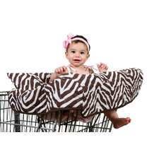 Zara Zebra Grocery Cart Cover